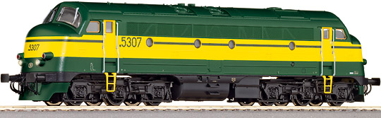 Roco 63963 - Diesel Locomotive Rek 53 w. Sound