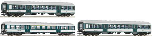 Roco 64054 - 3 Piece Set: Local Passenger Coach