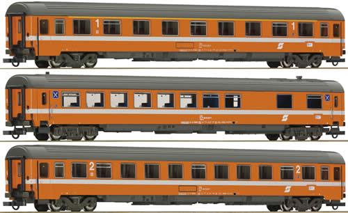 Roco 64095 - Set: passenger cars Transalpin Eurofima #1