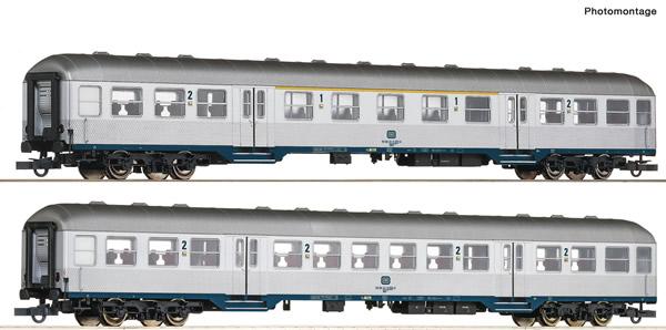 Roco 64175 - 2 piece passenger car set: The Karlsruhe train