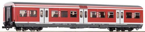 Roco 64277 - Rapid transit wagon 2 class, red, #2