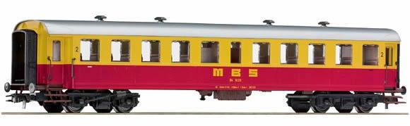 Roco 64357 - Austrian 2nd class passenger car MBS