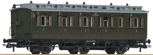 Roco 64453 - 2nd class compartment wagon, NS
