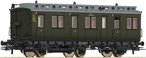 Roco 64455 - 3rd class compartment wagon, NS