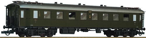 Roco 64569 - 2nd class fast train wagon, DRG