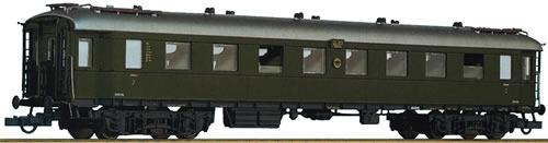 Roco 64569 - 2nd class fast train wagon, DRG