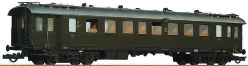 Roco 64572 - Passenger Car. 3.Class DRG green #2