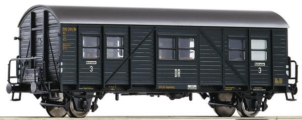 Roco 64604 - 3rd class auxiliary passenger coach, DRB