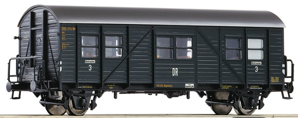 Roco 64605 - 3rd class auxiliary passenger coach, DRB