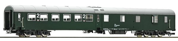 Roco 64670 - 2nd class center entry coach with baggage compartment, ÖBB