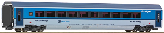 Roco 64697 - Czechoslovakian 1st Class Railjet Passenger Carriage of the CD