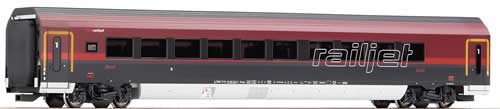Roco 64715 - Wagon Railjet, 1cl., light, +BB