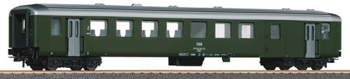 Roco 64792 - 2nd class passenger wagon w/luggage compartment, ÖBB