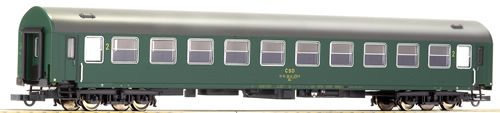 Roco 64806 - 2nd class Y-coach of the CSD