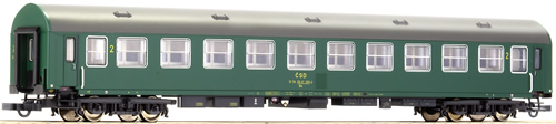 Roco 64807 - 2nd class Y-coach of the CSD