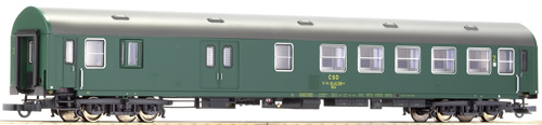 Roco 64808 - 2nd class Y-coach w/ luggage compartment of the CSD