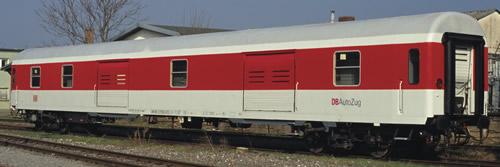 Roco 64914 - German Luggage Car DB-Autozug of the DB AG