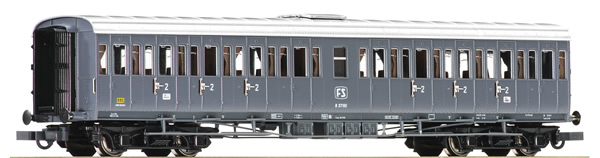 Roco 64984 - Italian 2nd Class Passenger Carriage of the FS