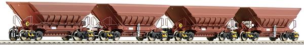"Roco 66080 - 4 piece set: Mineral wagons ""Master Slave"""
