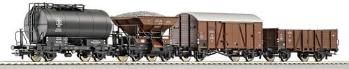 Roco 66081 - 4-piece set freight cars