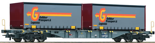Roco 66737 - Container carrier wagon, SBB
