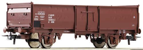 Roco 66849 - Gondola 2 axle, brown, DR