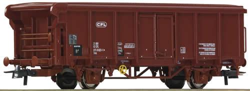 Roco 66859 - Roll-roof wagon 2 axle, CFL