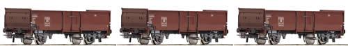Roco 67015 - Set: gondolas brown, DB