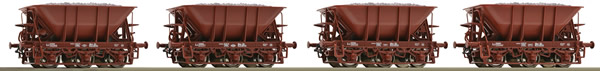 Roco 67076 - Swedish Ore wagon Set of the  SJ