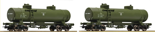 Roco 67117 - 2pc Tank Car Set, USATC