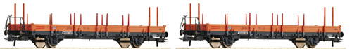 Roco 67134 - 2pc Stake Cars Set, Wascosa
