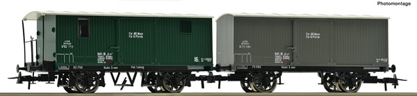 Roco 67172 - Austrian Boxcar Set of the KkStB