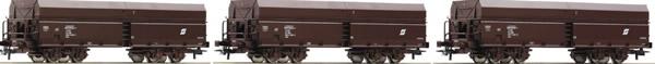 Roco 67177 - 3 piece set: Ore wagons, ÖBB