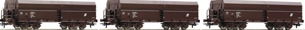 Roco 67177 - 3 piece set: Ore wagons, ÖBB