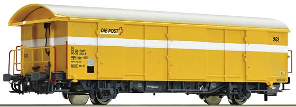 Roco 67187 - Postal Goods Wagon