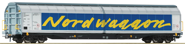 "Roco 67318 - Swedish Sliding wall wagon ""Nordwaggon"""
