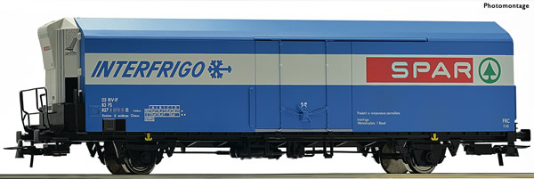 Roco 67570 - Italian Refrigerator wagon of the FS