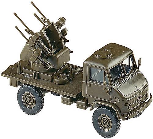 Roco 696 - Unimog S Truck w/ AA-Gun