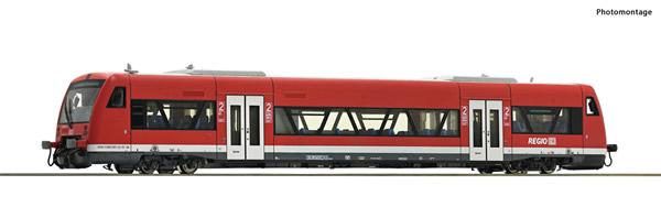 Roco 70181 - German Diesel railcar class 650 of the DB AG (DCC Sound Decoder)