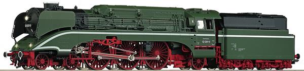 Roco 70202 - German Steam Locomotive 02 0201-0 of the DR (DCC Sound Decoder)