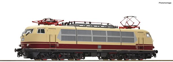 Roco 70213 - German Electric locomotive 103 109-5 of the DB (DCC Sound Decoder)