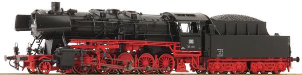 Roco 70256 - German Steam Locomotive BR 50 of the DB (DCC Sound Decoder)