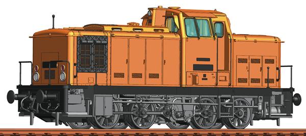 Roco 70264 - German Diesel Locomotive BR 106 of the DR (DCC Sound Decoder)