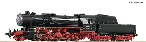 Roco 70276 - German Steam locomotive 52 2443 of the DB (DCC Sound Decoder)