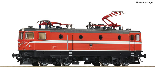 Roco 70454 - Austrian Electric locomotive 1043.04 of the OBB (DCC Sound Decoder)
