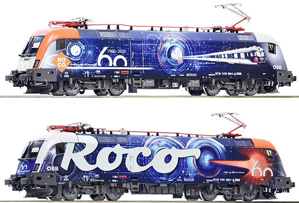 Roco 70486 - Austrian Electric Locomotive Class 1116 60 years of ROCO of the ÖBB (DCC Sound Decoder)