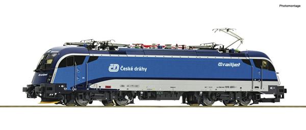 Roco 70487 - Czech Electric locomotive 1216 250-1 of the CD