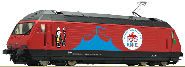 Roco 70657 - Swiss Electric Locomotive 460 058-1 Circus Knie of the SBB (DCC Sound Decoder)