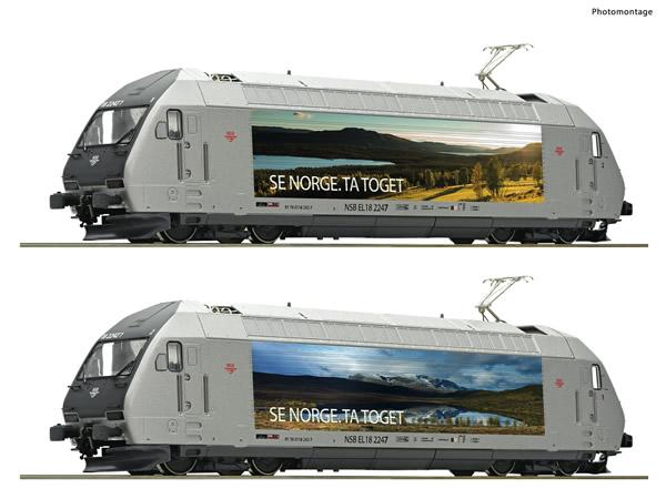Roco 70658 - Norwegian Electric locomotive EL 18 2247 of the NSB