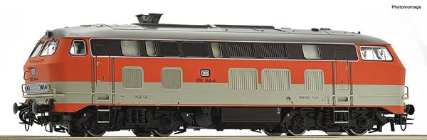 Roco 70748 - German Diesel locomotive 218 144-4 of the DB
